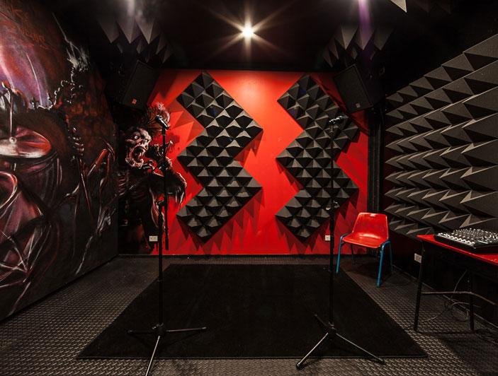 punk room dimensions 5m x 4m
